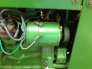 John Deere MT generator question  Yesterday's Tractors