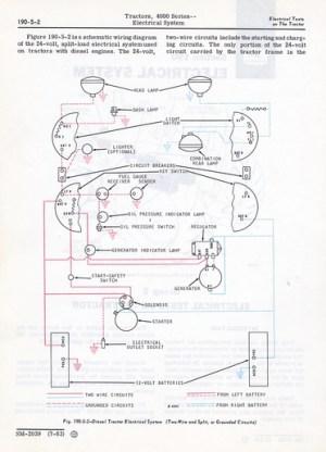 Jd 4020 24 Volt Wiring Diagram  Wiring Diagram Pictures