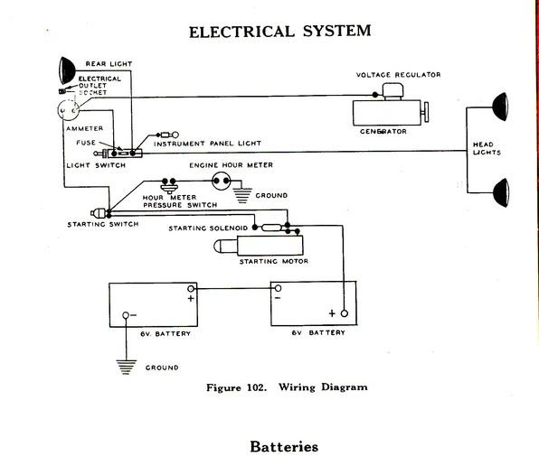 farmall 400 diesel wiring diagram  schematic wiring diagram