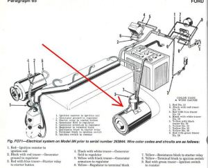 8n Ford Tractor Starter Solenoid Wiring Diagram   Wiring