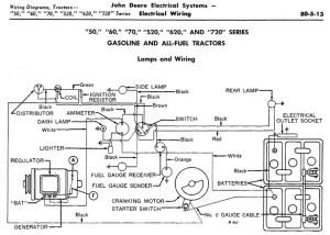 John Deere 50 wiring diagram  Yesterday's Tractors