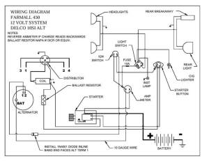 450 wiring diagram  Farmall & International Harvester