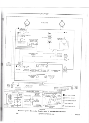 1969 Ford 3400 Wiring Diagram  Ford Forum  Yesterday's