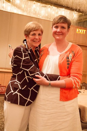 Head of School Gail Ruddy, with her daughter, Dr. Ginger Ruddy.