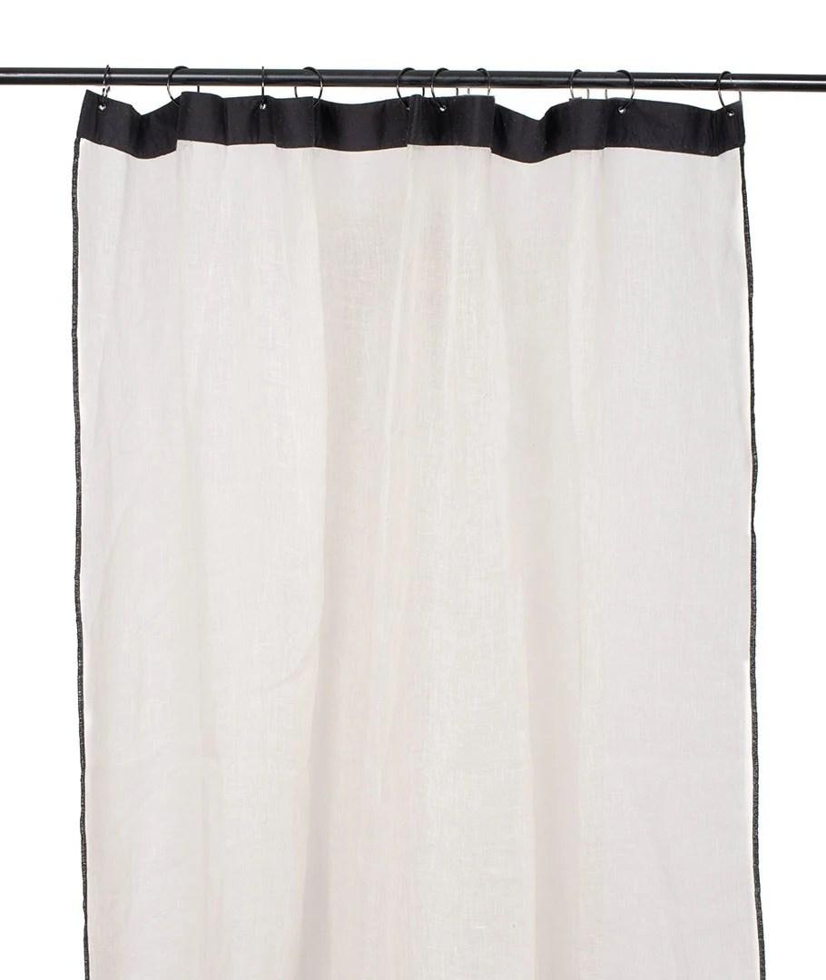 rideaux bonifacio 100 lin a œillets beige 140x280cm