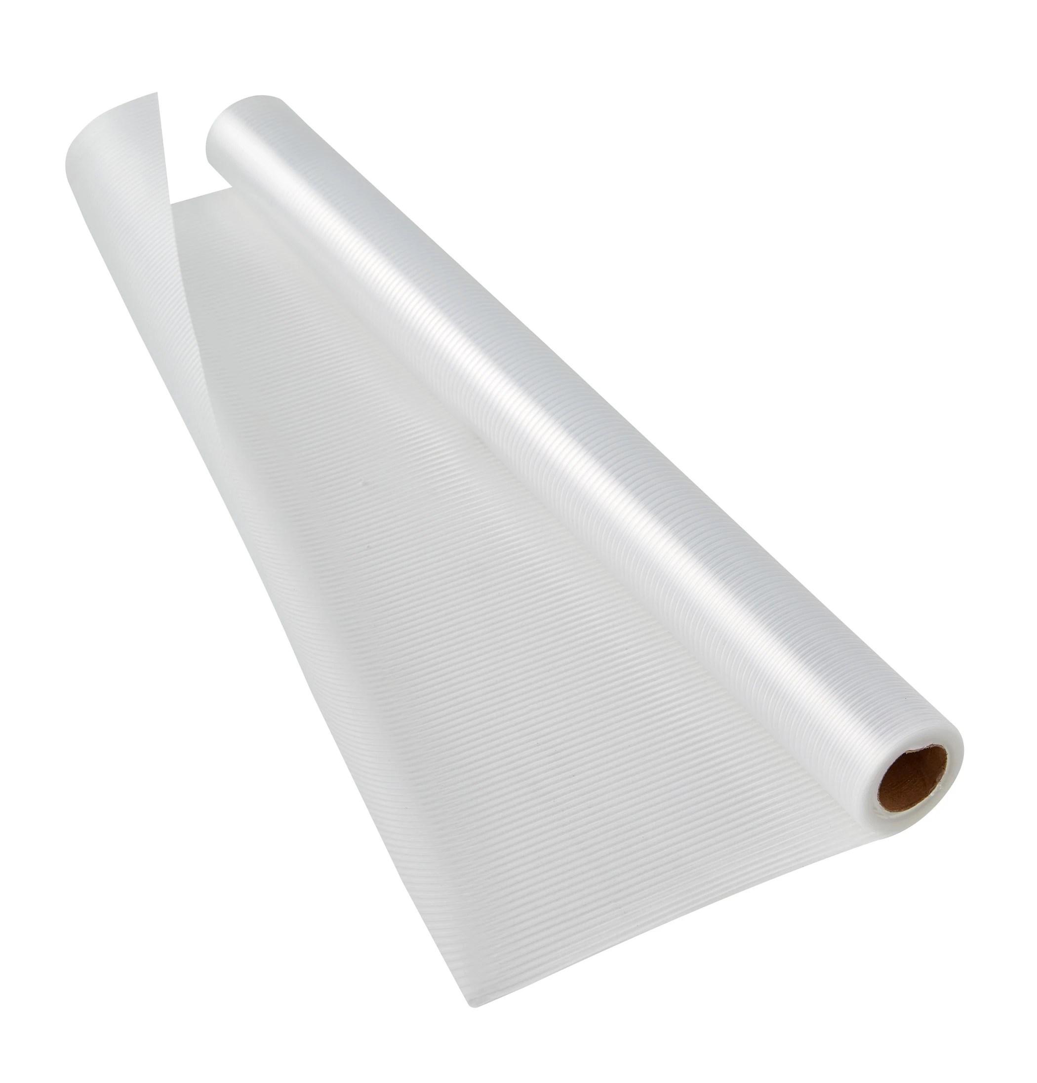 tapis fond de tiroir transparent 150x50cm