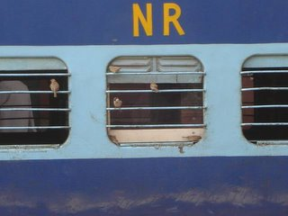 Sparrows on the Rail