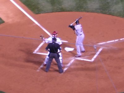 Bonds gets intentionally walked in the first inning, May 7, 2006.