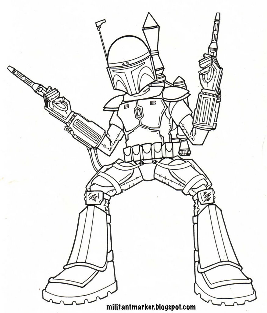coloring pages as well boba fett coloring pages in addition boba fett