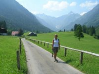 Hiking in Oberstdorf