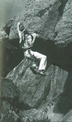 Reach Overhang, Horsetooth.