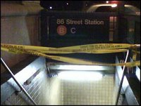 its for real this time...a closed subway station on the UWS