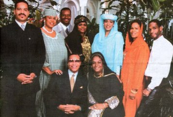 Image result for louis farrakhan family