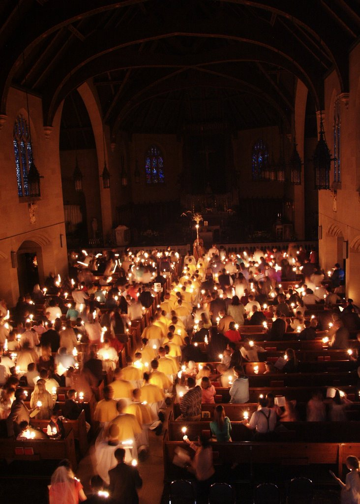 Image result for easter procession candles