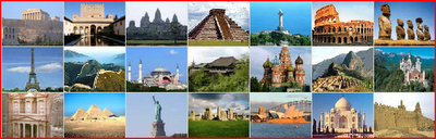Choose your New 7 wonders of the World