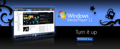 Windows Media Player 11 build 11.0.5721.5145 final