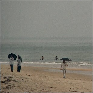 Umbrellas on Goa beach