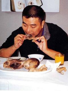 Zhu Yu: 'eating babies'