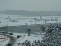 Aeroporto innevato