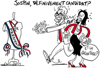 Jospin candidat ?