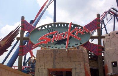 ... Machine SheiKra Roller Coaster