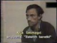 Alija Selimagic was a Bosniak civilian captured by the Serb forces in northern Bosnia (1993) then beaten and tortured into confessing that he committed war crimes against the Serbs. Yugoslav (aka: Serbian) government used video recording of his forced confession in propaganda purposes and in preparation of reports that were submitted to the United Nations.