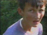 Bosniak child being led away and killed during Srebrenica massacre. (Never Forget 7/11/1995 - Srebrenica Genocide)