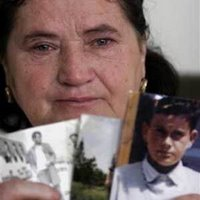 Srebrenica Mother Shows Photo of her Child Killed During Srebrenica Massacre (Never Forget 7/11/1995 - Srebrenica Genocide)