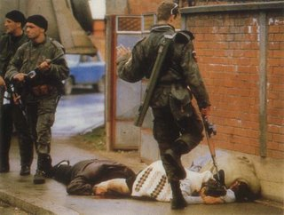 Bijeljina, Bosnia-Herzegovina, April 1992. Ron Haviv, Saba Press Photos for TIME
