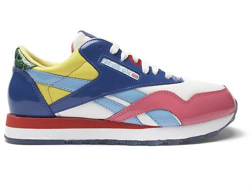 a38017ddb00 ... Se siguen sumando nombres a la lista de colaboraciones entre artistas y  la industria del calzado  RARE Reebok Classic Rolland Berry Shoes ...
