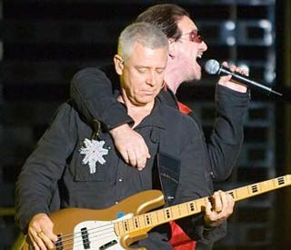 Bono adam clayton san sebastian