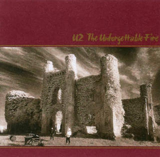 U2 THE UNFORGETTABLE FIRE 1984