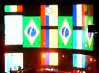 Video U2 en Chile