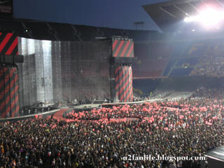 U2 vertigo Tour Barcelona4