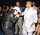 Bono y Kanye West