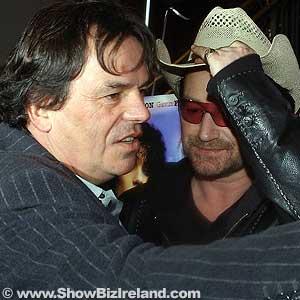 Bono y Neil Jordan