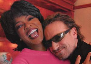 Bono smile