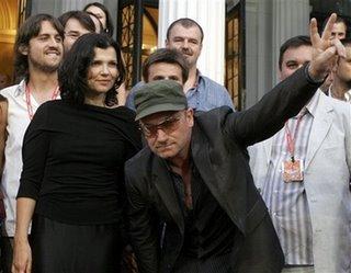 Bono en el Sarajevo film festival