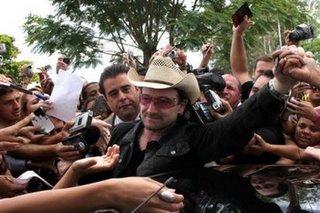 Bono en Brasil