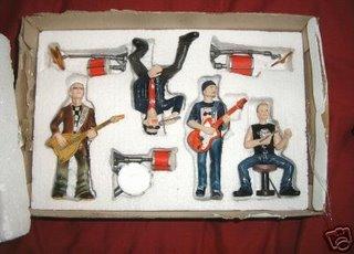 U2 Resin figures