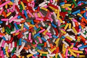 Rainbow sprinkles!