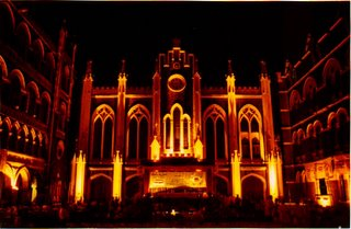 Xaviers College Mumbai - The Chapel in the first Quad. (Not my photo)