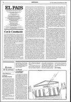 Editorial del diario El Pa�s al d�a siguiente por la que se congratula del resultado obtenido