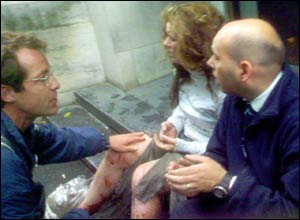 Imagen captada por videoaficionados durante el terrible atentado del 7-J en Londres