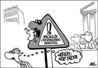 Viñeta de Forges, el genial dibujante humor�stico del diario El Pa�s. Gracias por tu siempre ingeniosa picard�a