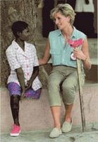 Princess Diana in Africa