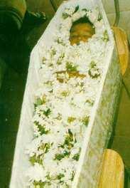 Scheper-Hughes picture of child in coffin