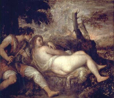 Nymph and Shephere