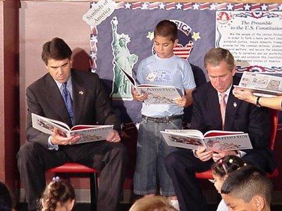 Bush reading
