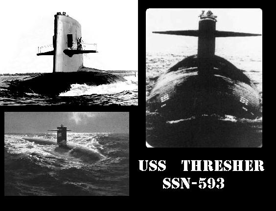 Image result for uss thresher photos